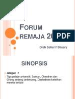 Forum Remaja 2020