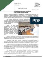 28/07/11 Germán Tenorio Vasconcelos ENTREGÓ  CAMPOS CLINICOS A MEDICOS PASANTES EN SERVICIO SO_0