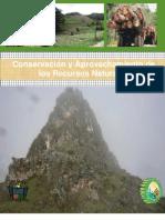 Conservacion y Aprovechamiento de Los Recursos Naturales