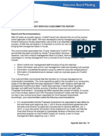 Foothill Transit Management Services Subcommittee Report May 24, 2013