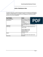 Oracle eAM Asset Acquisition Process