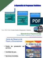 5 .- Operación de un Programa de Viaje