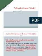 E9 - A Volta de Jesus Cristo