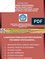 Presentasi Pedoman Penilaian Angka Kredit Dosen-1[1]