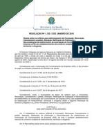 10 - Resolução RDC nº 1 de 13.01.2010