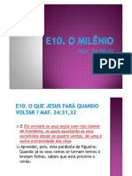 E10 - O Milenio