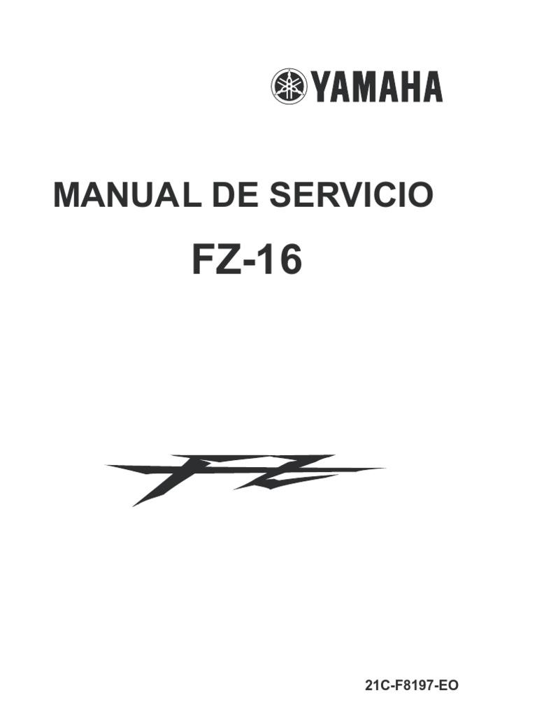 Manual de Taller Yamaha Fz 16
