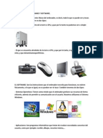 Hardware y Software de La Pc