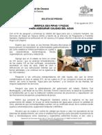 15/08/11 Germán Tenorio Vasconcelos verifica  Pipas y Pozos Para Asegurar Calidad Del Agua