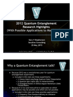 Mars Quantum Entanglement Applications 2013-05-25