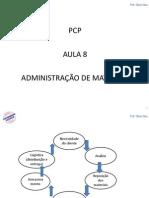 PCP Parte 08 - Adm de Materiais