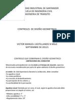 CONTROLES DE  DISEÑO GEOMETRICO-I-2012-D-Sept 20-2