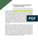 Políticas y Gestión Social del Desarrollo Local
