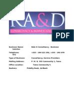company profile for consortium