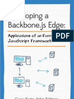 Developing a Backbone.js edge