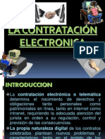 2°LA CONTRATACION ELECTRONICA