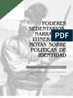 Politicas de Identidad (REGUILLO)