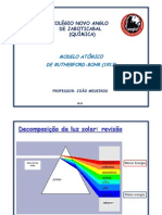 - MODELO ATÔMICO DE RUTHERFORD-BOHR