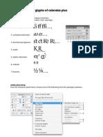 Calendas Plus Opentype Guide