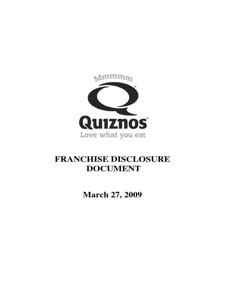 Qfa Unit Final Pdf File Of 32709 Fdd With Exhibits 1966 Mercury Montclair Wiring Diagram Franchising Private Law