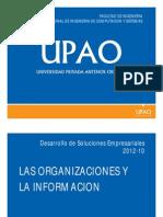 Las Organizaciones y La Informacion