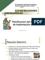 Planificacion Proyecto ERP