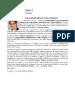 Message du Secrétaire de Section socialiste de Châtenay-Malabry