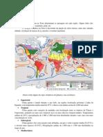 Relevo do Brasil e Paraná apostila