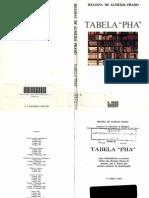 Tabela PHA- Heloisa de Almeida Prado