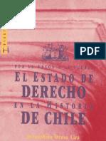 Historia Del Estado de Derecho en La Historia de Chile- Bernardinio Bravo