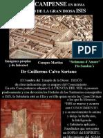 El Iseo Campense - El Templo mayor de ISIS en Roma