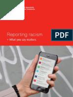 Reporting Racism report