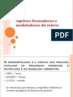 Relevo do Brasil e Paraná apresentação