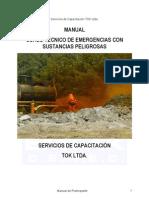 Manual Tecnico en Emergencias Con Materiales Peligrosos