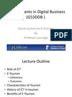 E-Tourism Lecture 120310 (1)