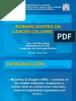 Biomarcadores en Cancer de Colon