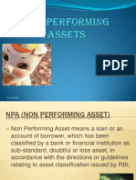 Non Performing Assets