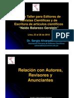 Relacion Autores Revisores y Anunciantes Alvaradorelacionconautores