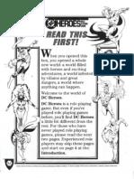 DC Heroes 1st Edision