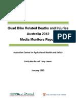 quad bike report 2012