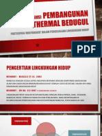 Pembangunan Geothermal Bedugul