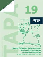 Revista TAPA19 Paisajes culturales sudameticanos. De las prácticas sociales a las representaciones. España