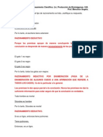 Actividad Grupal (Tipos de Razonamiento) Con Los Resultados