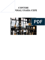Contoh Proposal Usaha Cafe