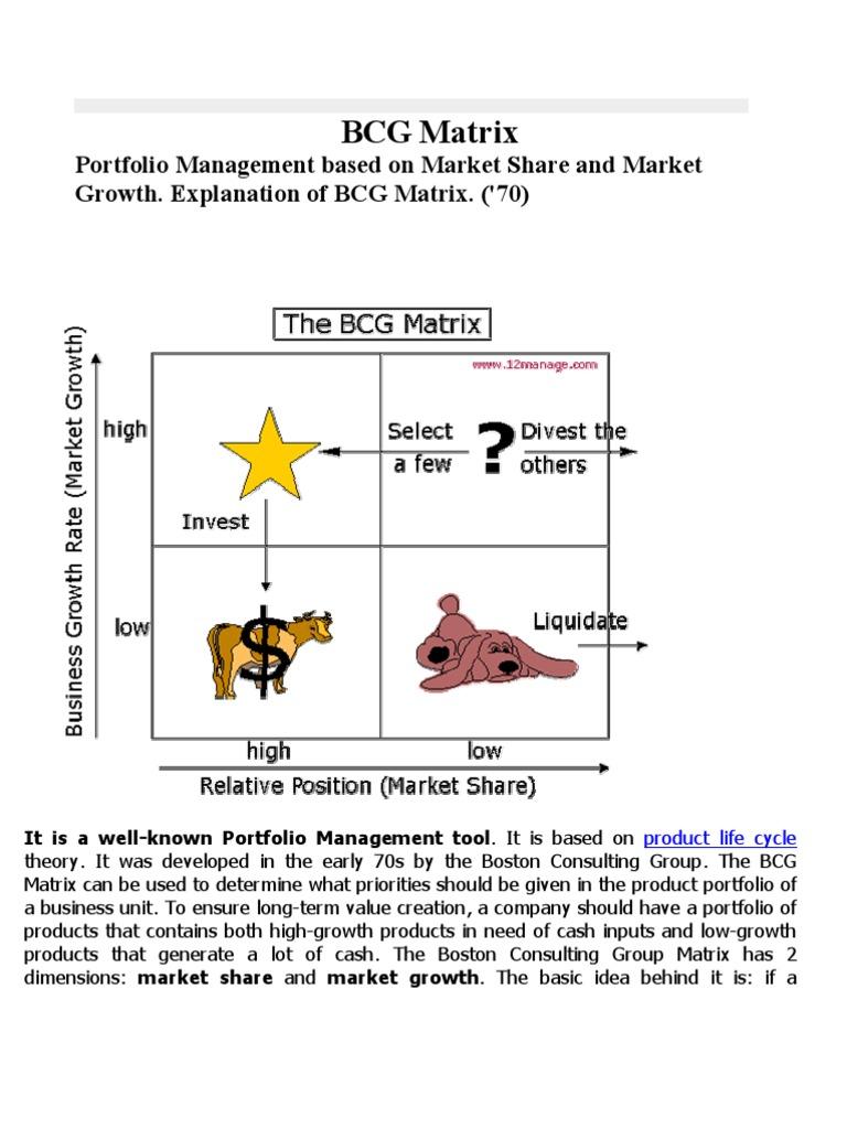 lamborghini bcg matrix