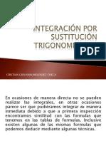INTEGRACIÓN POR SUSTITUCIÓN TRIGONOMETRICA