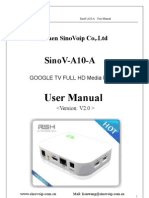 Android TV Media Player User Manual