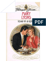Mary Lyons Love in a Spin