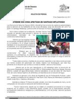 18/09/11 Germán Tenorio Vasconcelos Atiende SSO Zona Afectada en Santiago Mitlatongo (1)