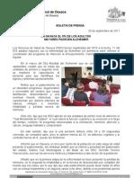 20/09/11 Germán Tenorio Vasconcelos en Oaxaca, El 5% de Los Adultos Mayores Padecen Alzheimer